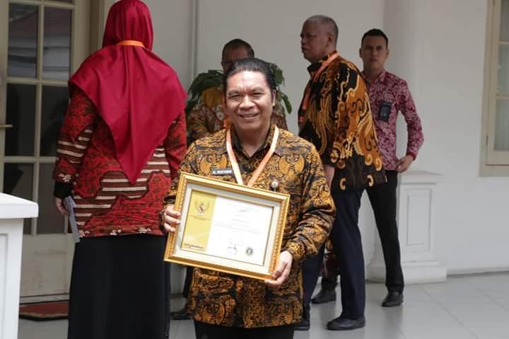 Gubernur Banten Raih Penghargaan Paramakarya 2109