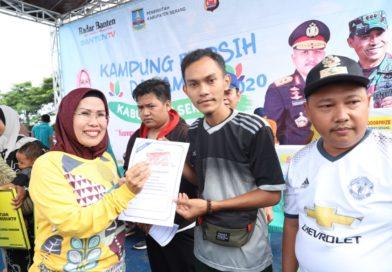 Bangkitkan Gotong Royong, 1.511 RW di Kabupaten Serang Berkompetisi