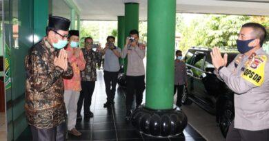Polda Banten dan Kanwil Kemenag Komitmen Tingkatkan Sinergitas
